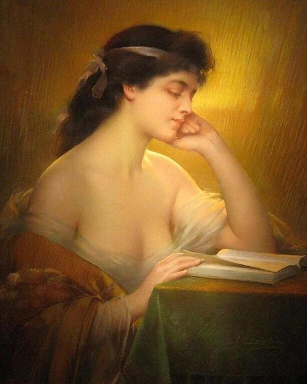 Творчество художника Дельфина Анжольра (Delphin Enjolras; 1857-1945)
