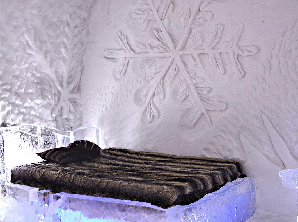8 самых удивительных ледовых отелей мира-9