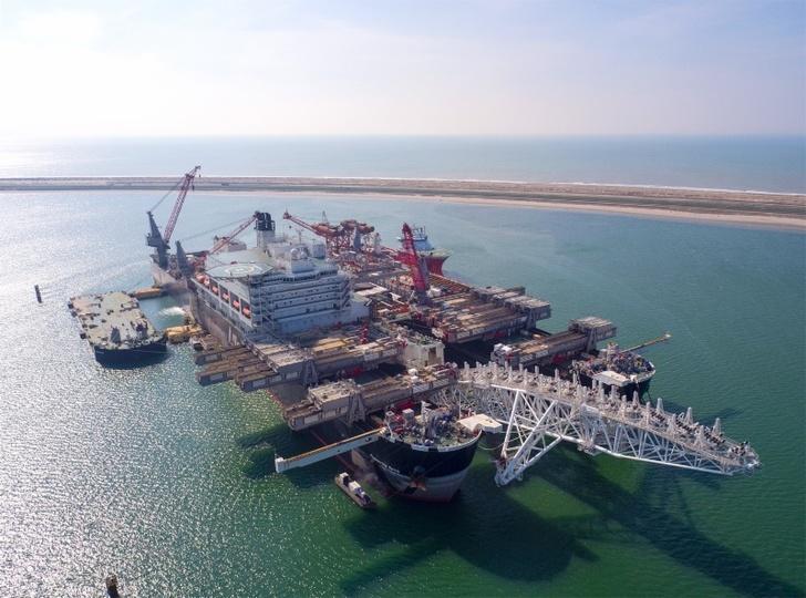 Возобновлена укладка второй нитки морского газопровода «Турецкий поток»
