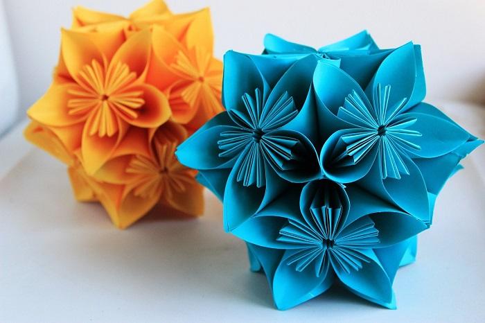 Делаем объемные снежинки из бумаги — 5 способов