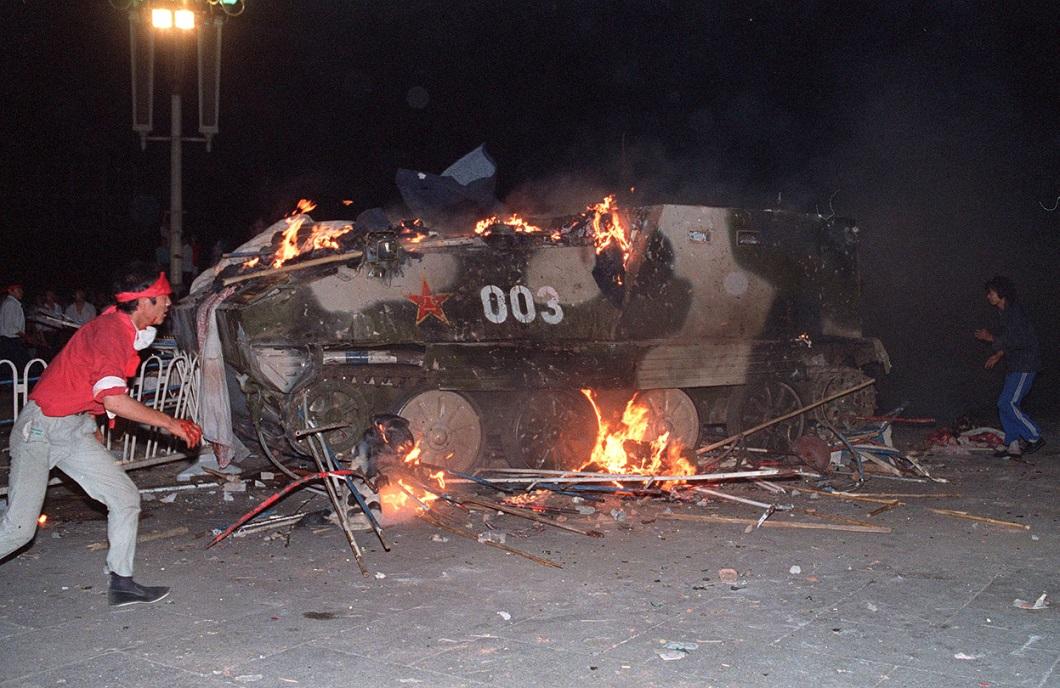 Tiananmen Square 21 Расстрел демонстрантов на площади Тяньаньмэнь 25 лет назад
