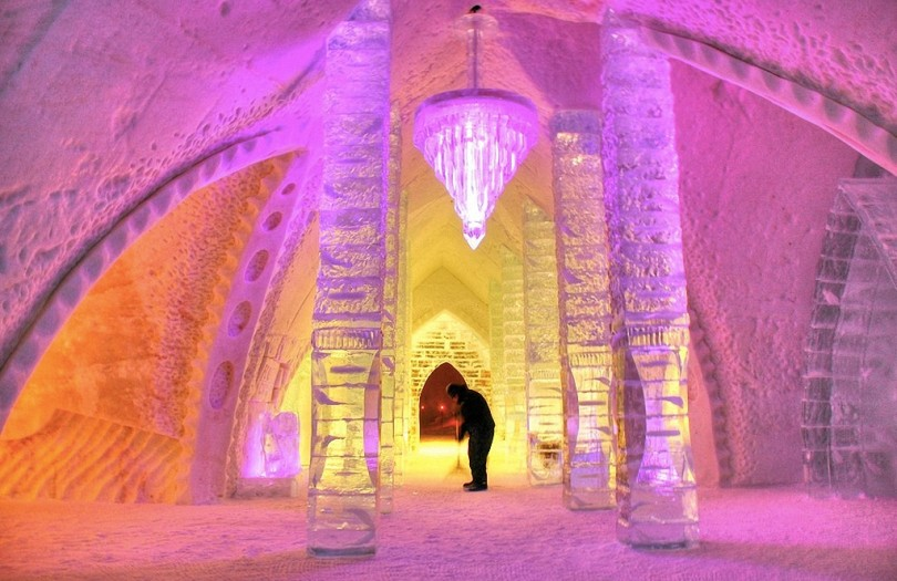 8 самых удивительных ледовых отелей мира-4