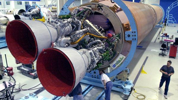 Ракетные двигатели РД-180 составляют основу американской космонавтики