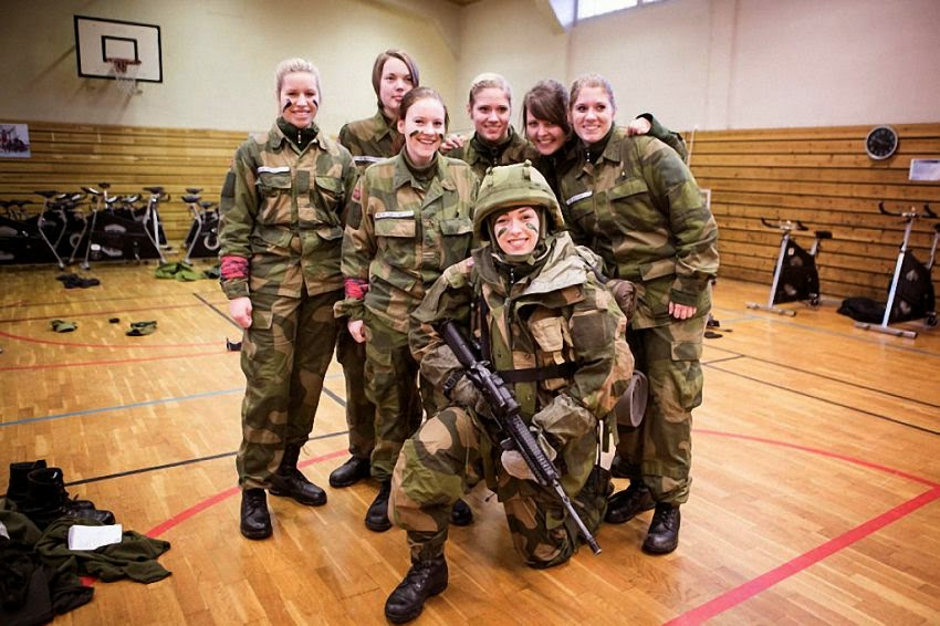 Как в норвежской армии служат женщины
