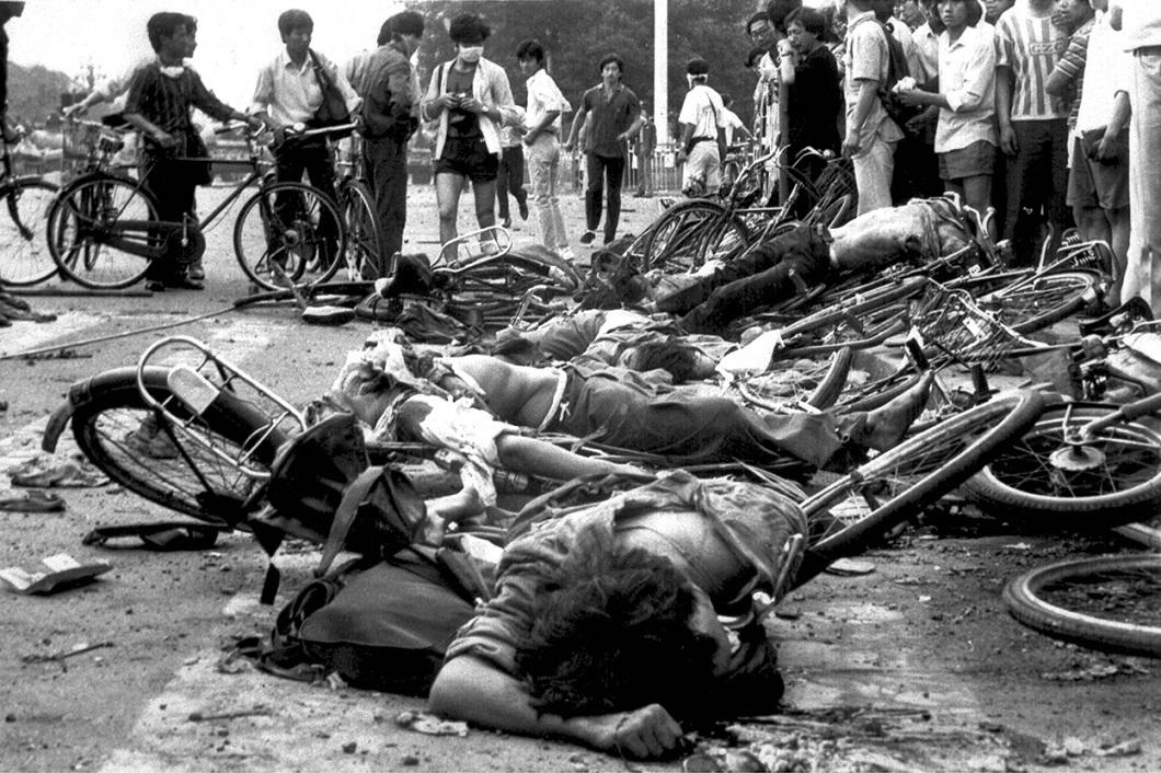 Tiananmen Square 22 Расстрел демонстрантов на площади Тяньаньмэнь 25 лет назад