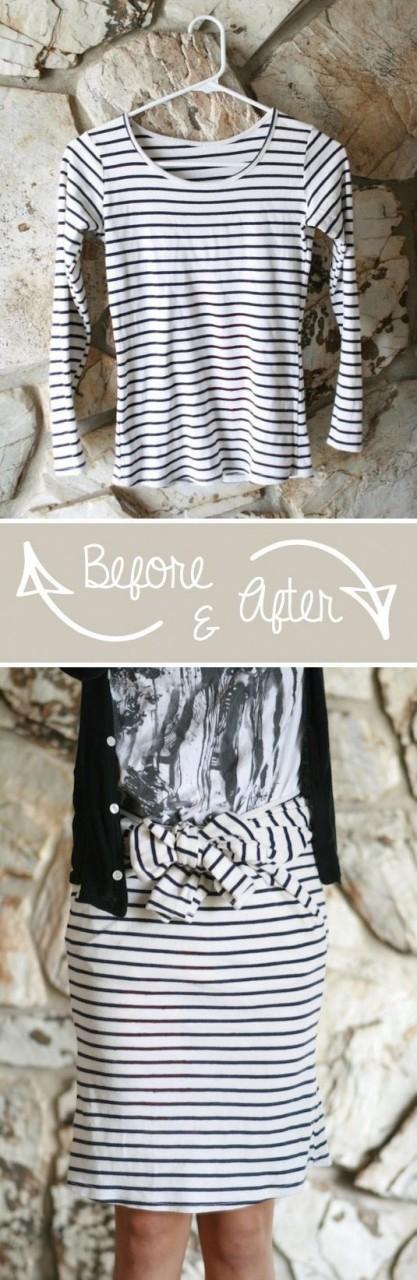 Переделка старой одежды в новую: 10 стильных идей