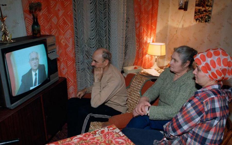 Убогое советское телевидение