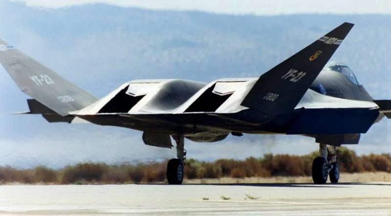 Реванш «Чёрной вдовы»: легендарный YF-23 в новом исполнении может появиться над Дальним Востоком