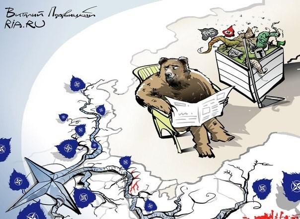 Немецкие СМИ: Россия всухую обыграла НАТО в Европе