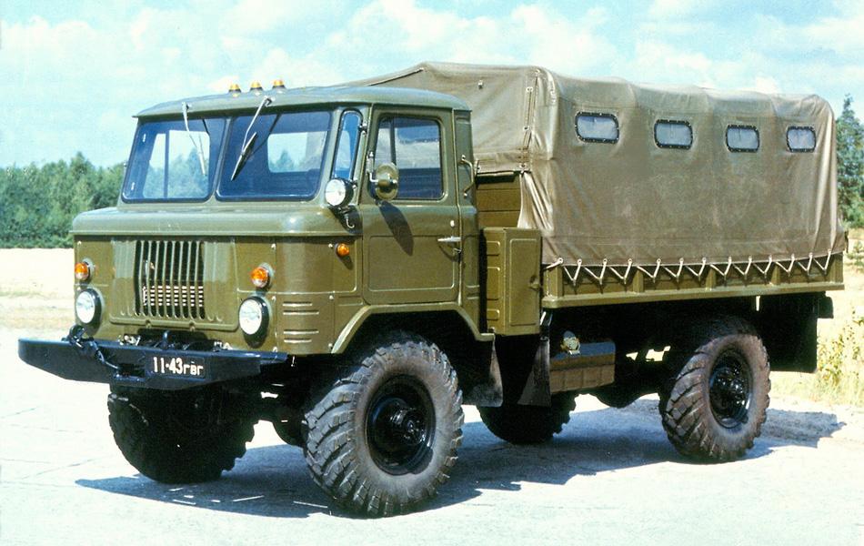 """pspan style=""""color: #000000;""""На базе первого 66-го было сконструировано около двух десятков модификаций, подходящих для использования в самых разнообразных целях — от транспорта, предназначенного для перевозки живого груза, до грузовика-самосвала./span/p"""