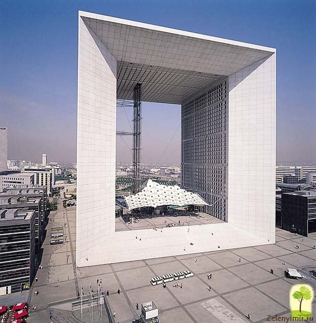 Большая арка Дефанс в Париже – современный вариант Триумфальной арки - 7