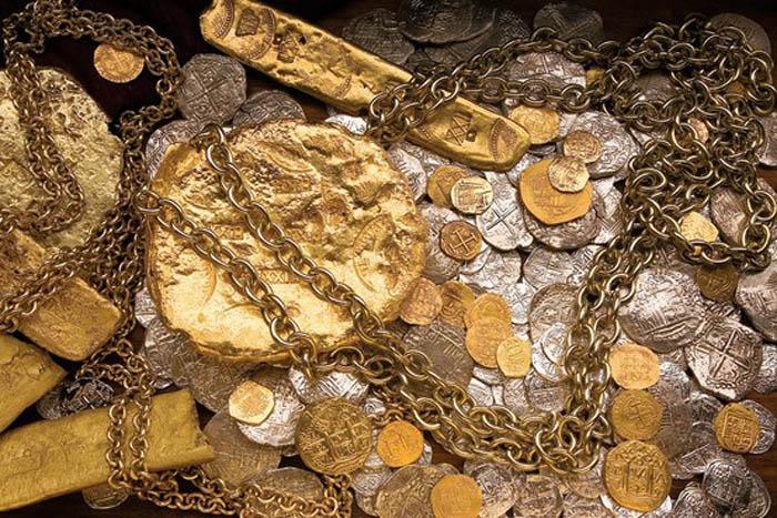 Золото и серебро времен Третьего Рейха.