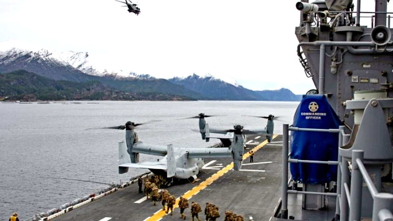 Итоги учений НАТО в Норвегии — Голливуд отдыхает