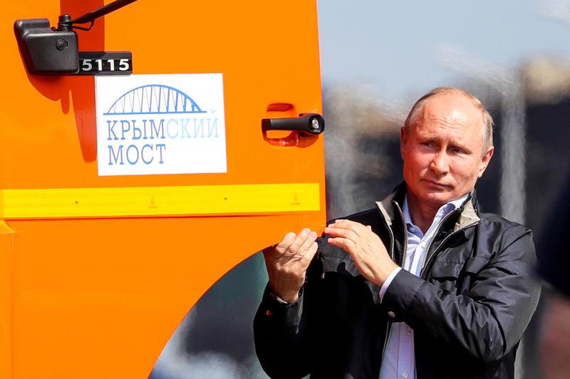 «Это не Путин»! Киев «разоблачил» поездку президента по Крымскому мосту