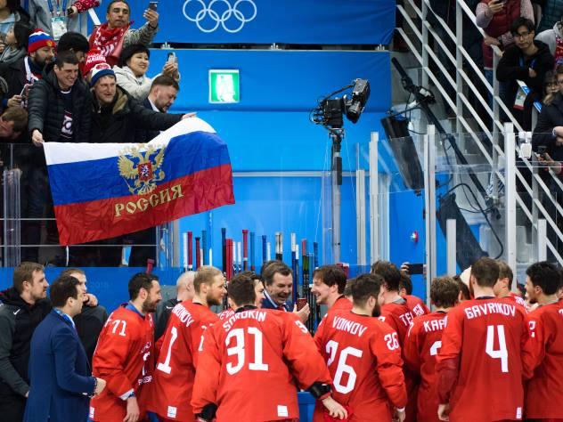 «Красная машина» завоевала золото на ОИ-2018 впервые за 20 лет