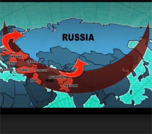 США репетирует захват России