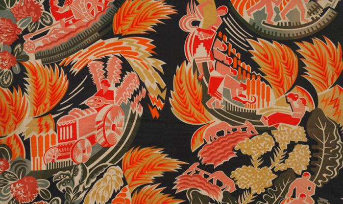 Агитационный текстиль: забытые шедевры советского дизайна