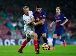 «Барселона» — «Севилья». Прямая онлайн-трансляция матча 9-го тура Ла Лиги