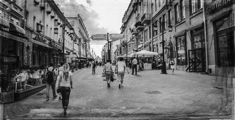 Улица Кузнецкий Мост, Москва. Истории российских городов - самые мистические