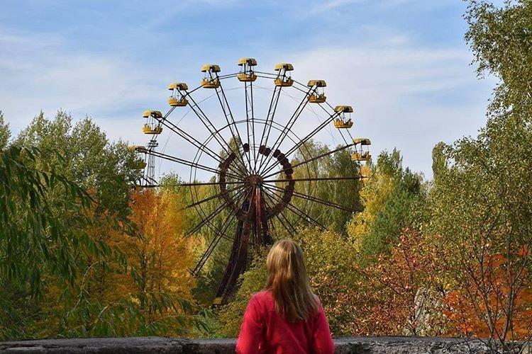 Ставшее одним из символов Припяти Припять, Чернобыль, зона, туризм, чаэс, экстрим