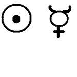Знак Солнца и Меркурия