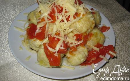 Рецепт – Картофельные ньокки с соусом из помидоров