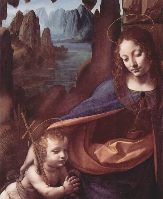 1385137540-leonardo-da-vinchi-madonna-v-skalah.-fragment.-mariya-i-ioann-ukrestitel (575x700, 47Kb)