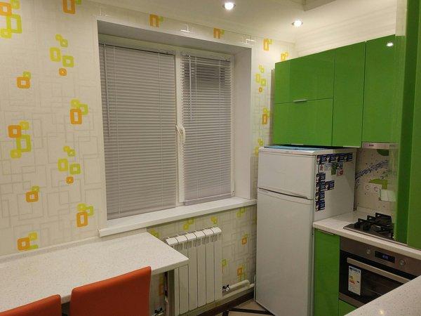 Простенький и бюджетный ремонт в хрущевке, но зато квартира засияла новыми красками