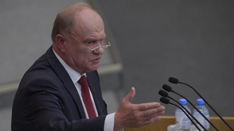 Зюганов призвал Путина признать Донбасс