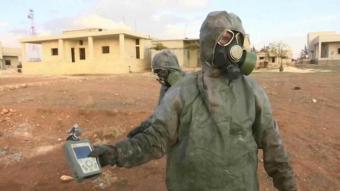 В Сирии найдено химическое оружие принадлежащее США