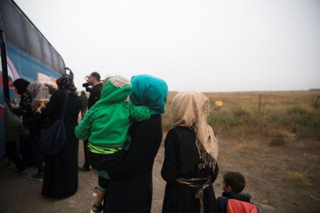За сутки свыше 300 сирийцев покинули зону деэскалации