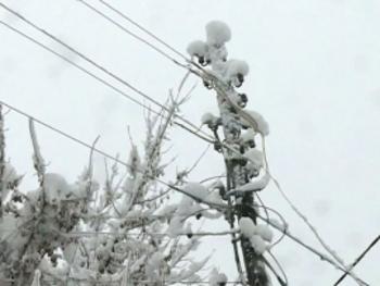 Три района Красноярского края остались без света из-за непогоды