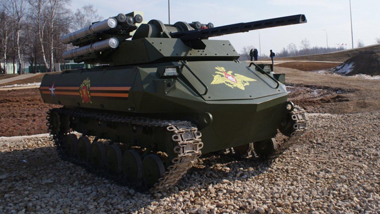 ИНОСМИ: Российские роботы-танки «Уран» изменят облик сражений будущего.