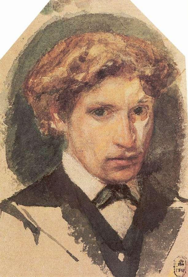 Автопортрет. 1882 - Врубель Михаил