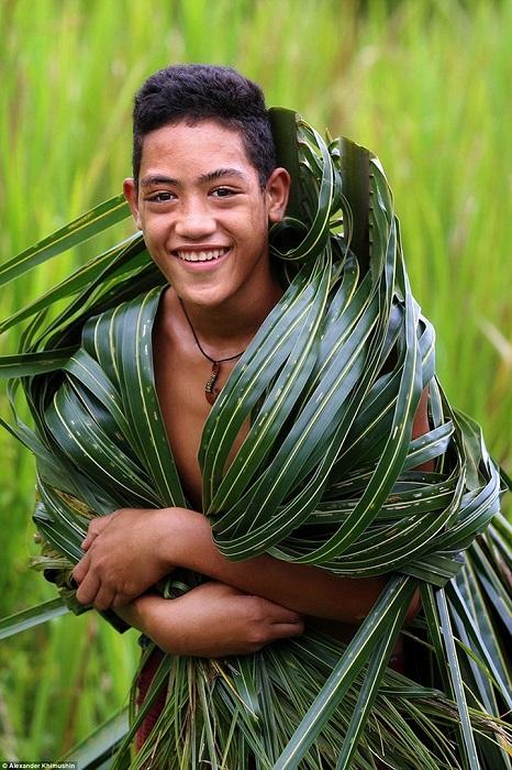 Самоанцы являются коренным населением островов Самоа.