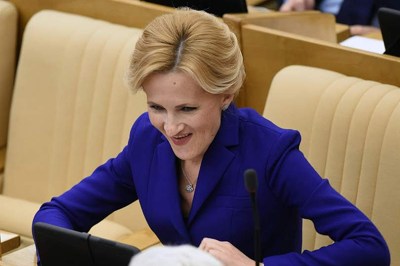 Депутат Яровая убеждает граж…