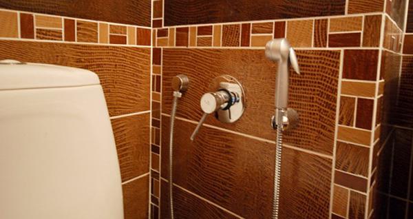 Как в туалете сделать душ