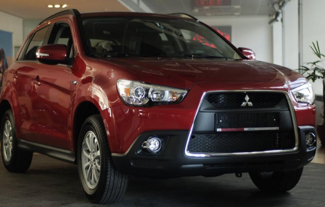 Mitsubishi отзывает почти 90 тысяч кроссоверов ASX из России