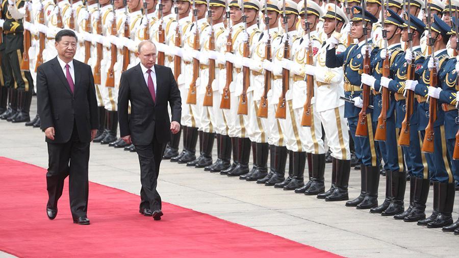 Путин начал трехдневный визит в Китай