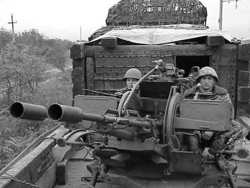 Как в Чечне воевали бронепоезда