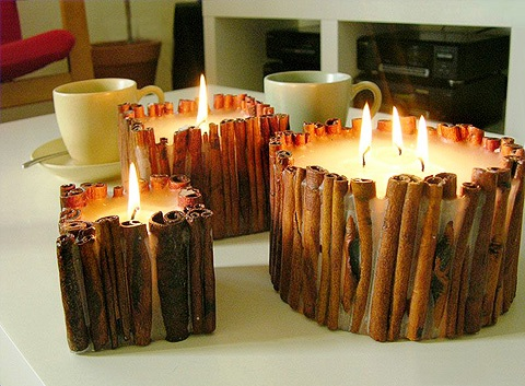 Свеча с корицей Эфирные масла и ароматерапия