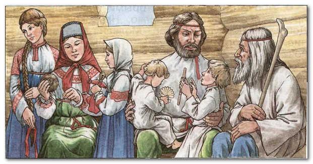 Отличие Ведической Культуры от язычества и неоязычества (Родовой Устой и воспитание ребёнка)