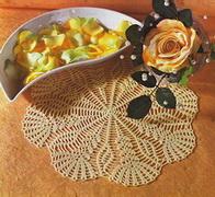 Круглые салфетки, которые, на мой взгляд, могут быть взяты за основу для вязания моделей.