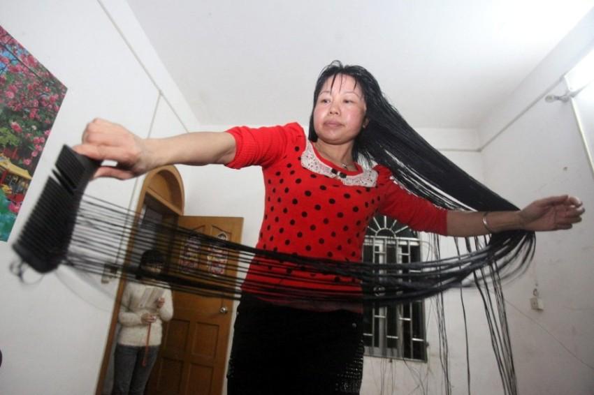 Настоящая Рапунцель - Инь Юань