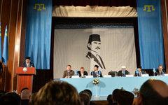 Внеочередная сессия съезда крымско-татарского народа в Бахчисарае © РИА Новости,