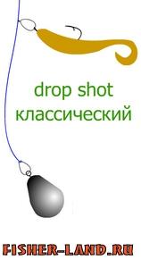 ловля окуня на дроп шот монтаж оснастки видео