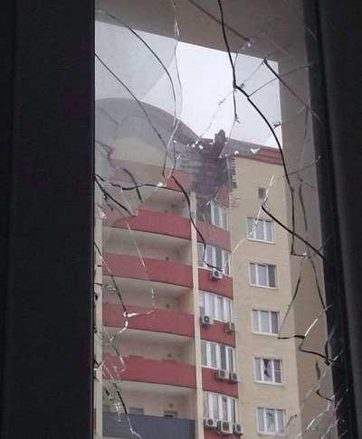 Донецк сегодня, 19.01.15, хроника разрушений, ситуация в городе: как власти Киева поздравили город с Крещением (фото, видео)