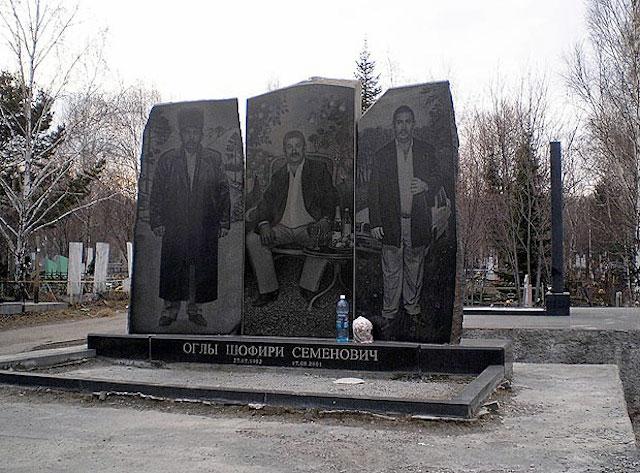 russian mafia gravestones