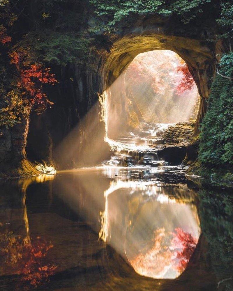 Nomizo Falls, Japan красивые места, мир, планета, природа, путешествия