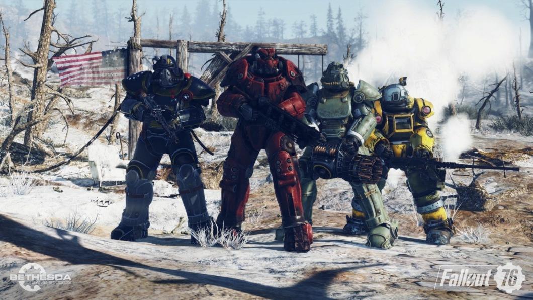 криншоты Fallout 76 с E3 2018